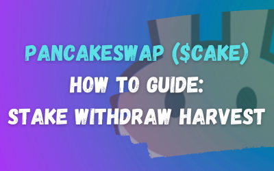 How to Stake, Withdraw and Claim Rewards on PancakeSwap